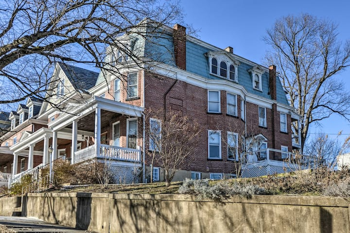 Historic Cumberland Home w/ Deck & Valley View!