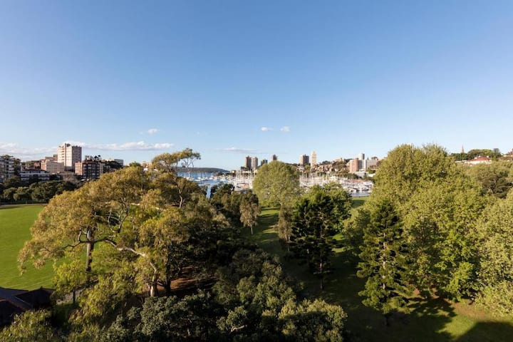 Classy Double Park View At Potts Point-Kings Cross