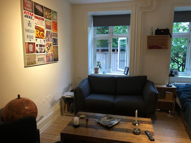 Great studio apartment in the heart of Copenhagen