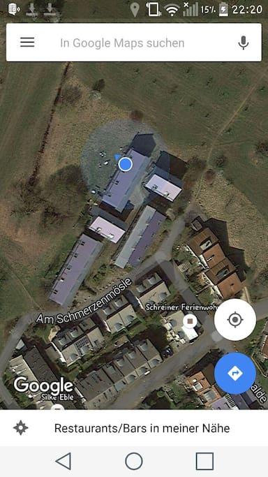 Lage meines Hauses/ location