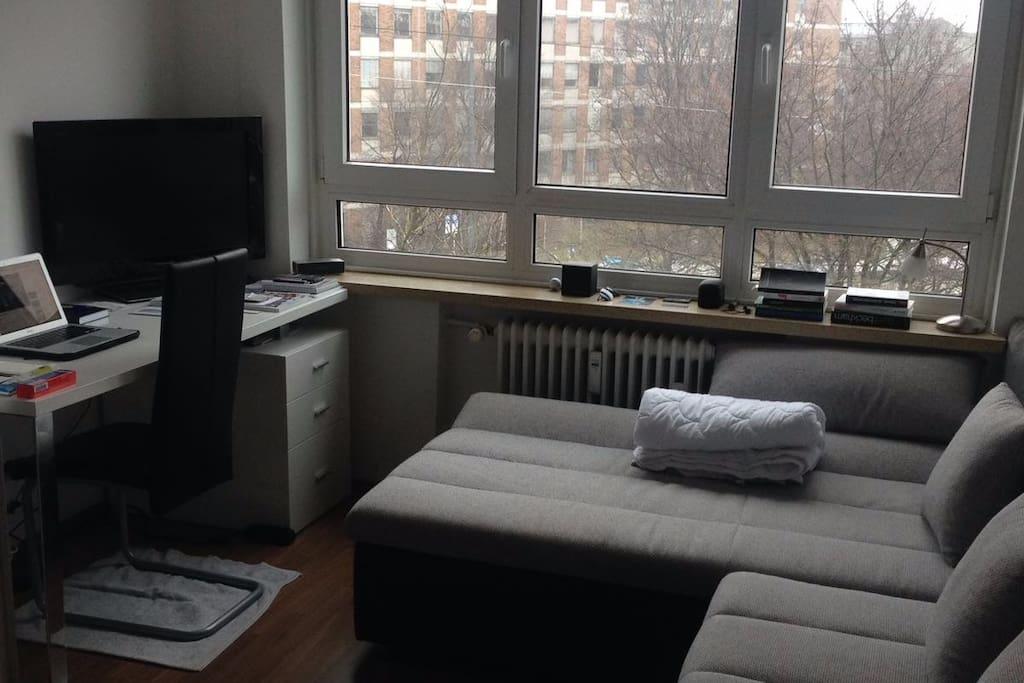 Big sleeping couch
