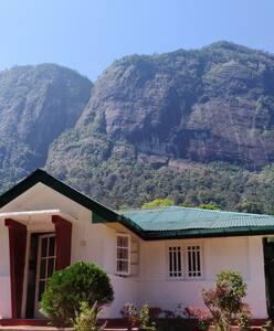 Near laxapana waterfall and sevenvirgin hills