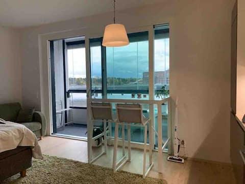 Sea vew LUX apartment, Balcony, Gym and Sauna