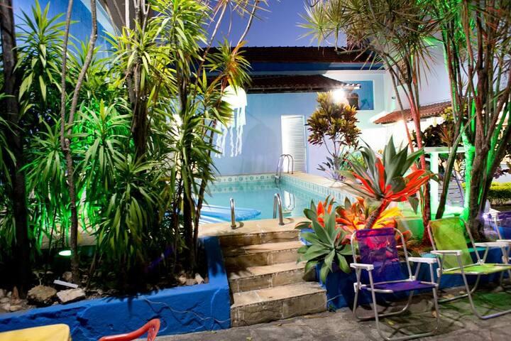 Rio Casa Hostel - Quarto Piscina 1
