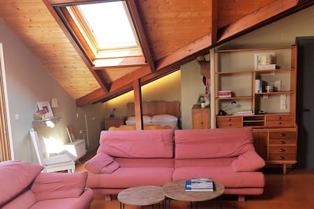 Country style attic in the heart of Preveza