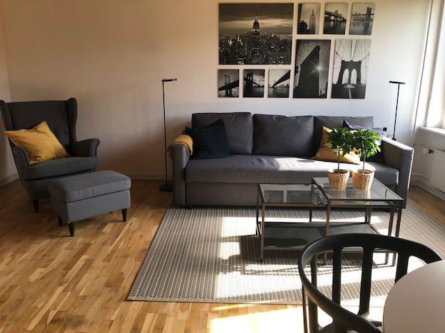 2 room apartment 9 km to central copenhagen,t39b1
