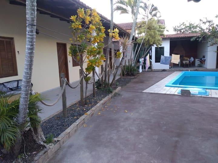 Casa na praia de Interlagos