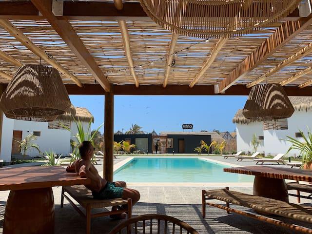 """""""Maison de vacances 1 """"Ocean View with AC"""