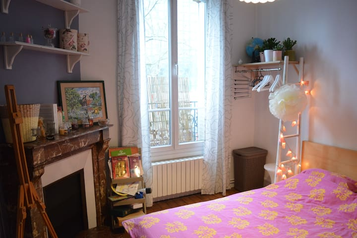 Cosy Room at Paris Doors - Bourg-la-Reine - Leilighet
