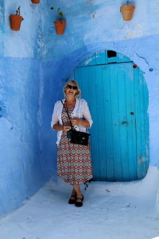 Me in Chef Chaouen , Morocco