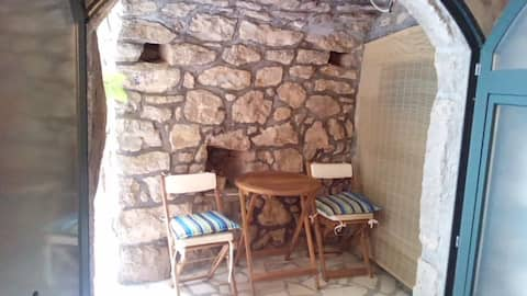 Calypso's Cave in a traditional village on Mljet