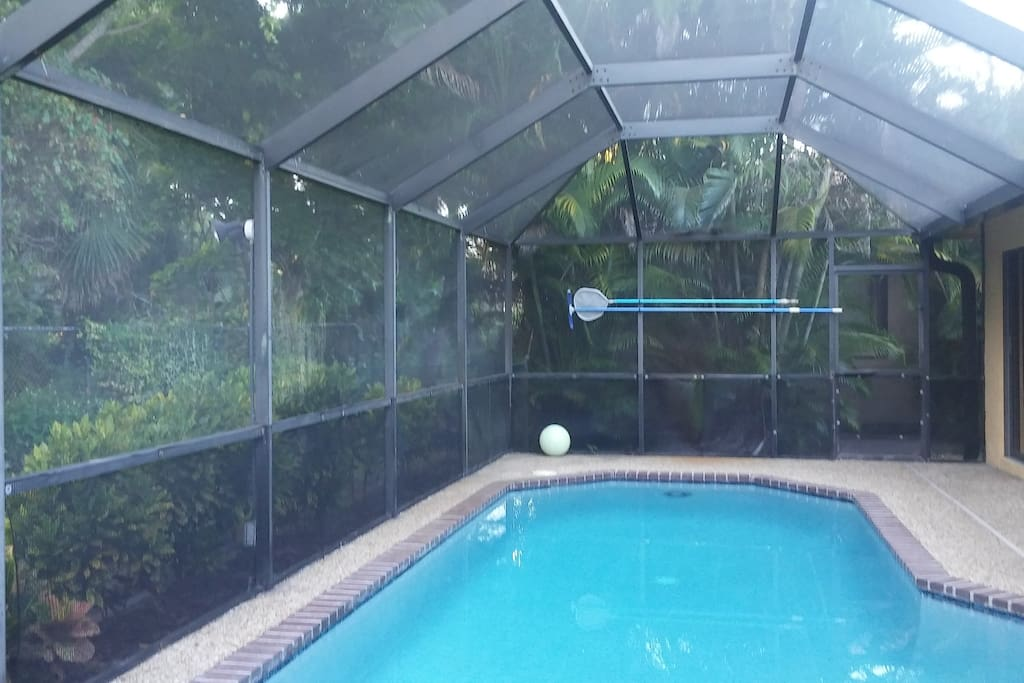 Pool with big barbecue grill for use available!
