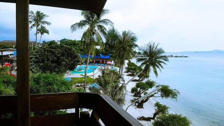Blessing villa- A/C 4 guests  beach front villa