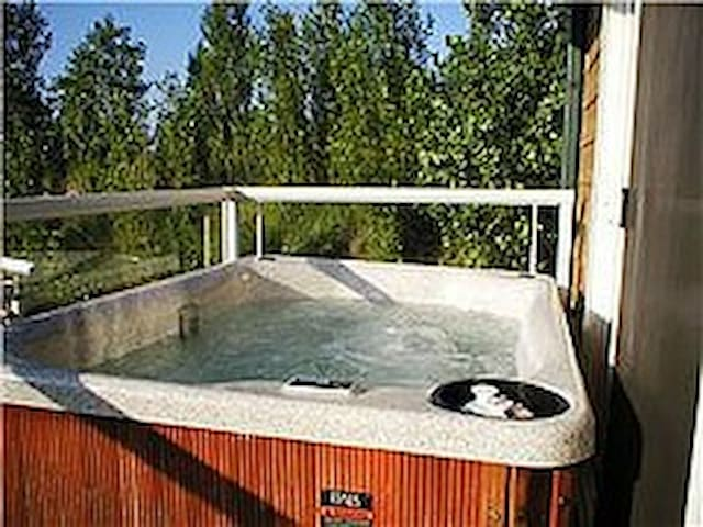 BeachHouse/Hot Tub(all year)Sauna/Jacuzzi/Pets