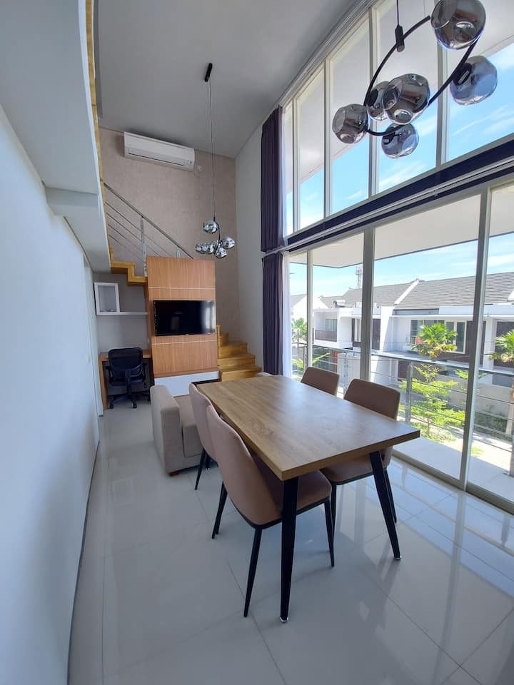 New 2-bedroom two-floor Apartment @ Sunset Rd Kuta