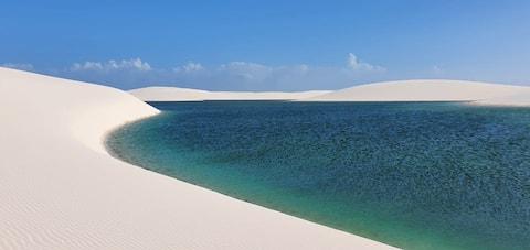 Mansão Paraíso do Sol nos Lençóis Maranhenses