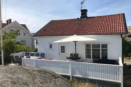 Mysigt hus i Hovenäset, Kungshamn!