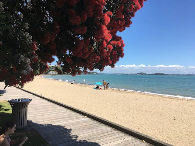 St Heliers Apartment-Amazing location beach 5 mins - Auckland - Appartement