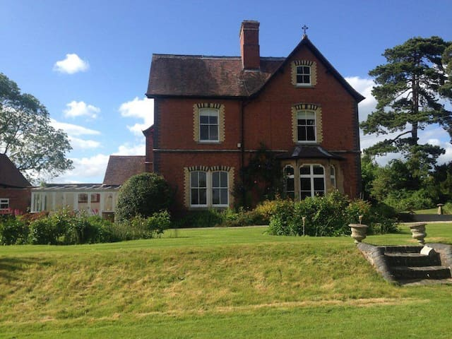 Victorian Country House - Ledbury - Casa