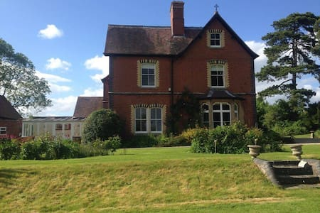 Victorian Country House - Ledbury - Hus