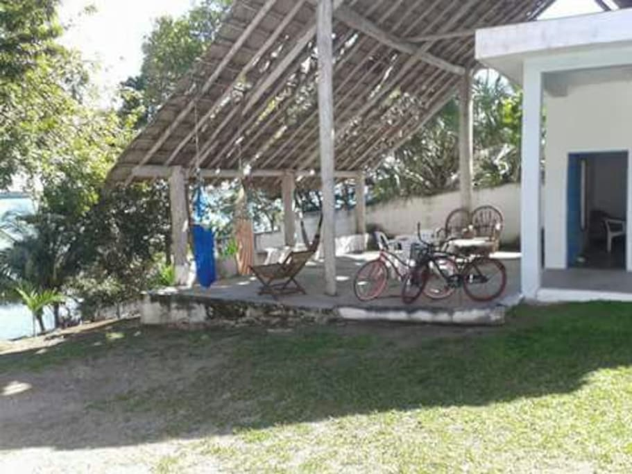 B cuarto con vista a la laguna hostales en alquiler en bacalar quintana roo m xico - Alquiler habitacion la laguna ...