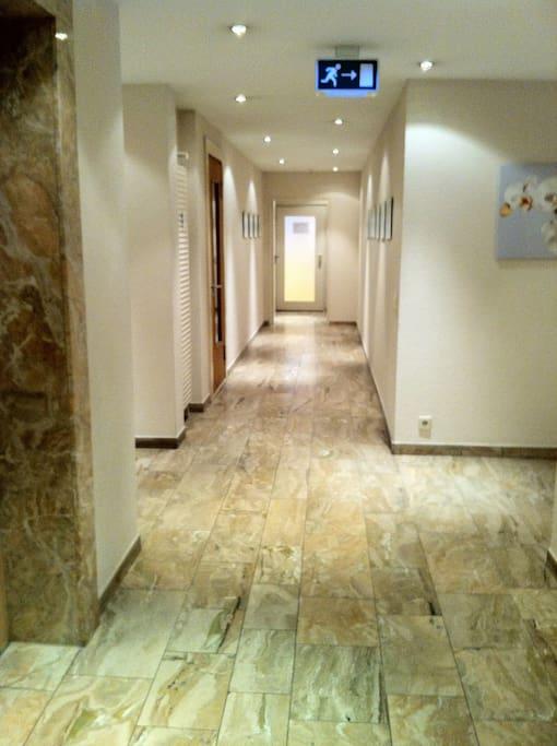 Eingangsbereich Appartement Haus