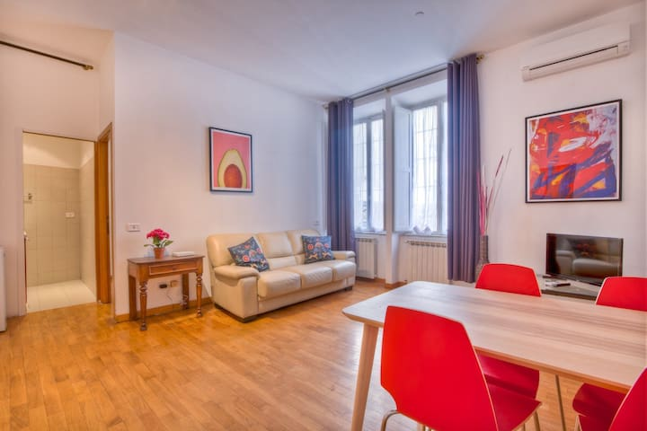 Passeggiata ripetta rossa apartments for rent in rome lazio italy
