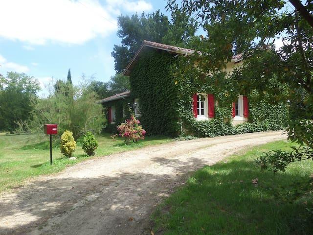 Maison LARTET - Bretagne-de-Marsan - Hus