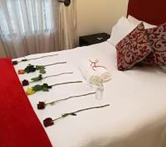 A romantic setup for adventurous couples seeking an escape and indulgence.