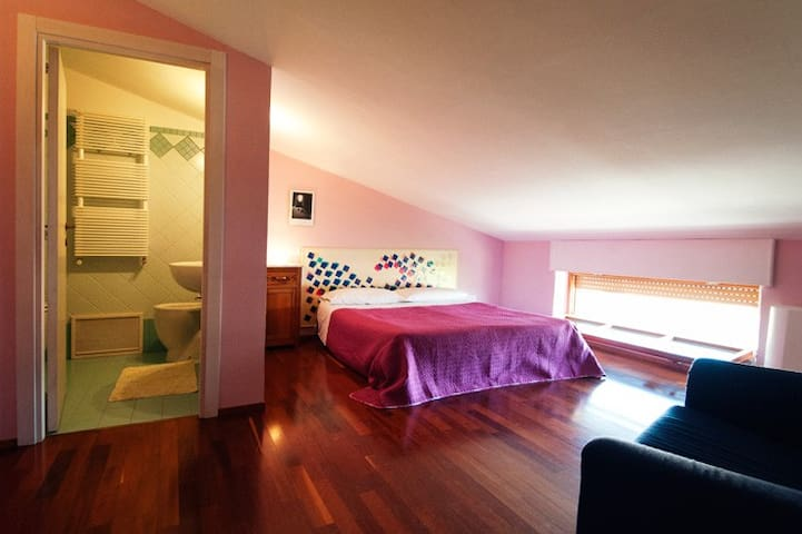 B&B Arcobaleno: Camera Matrimoniale - Casacalenda - Bed & Breakfast