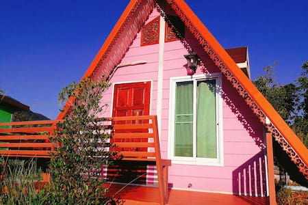 Pink Home. (บ้านชมพู) - ตำบล ด่านซ้าย