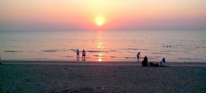 Wohnung im Haus direkt am Meer in Cherai Beach