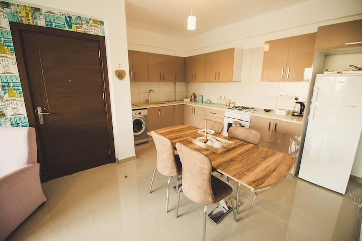 A lovely newly built flat in North Nicosia