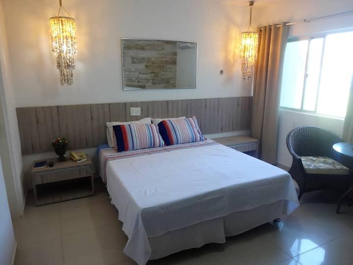 Suite Master 26, Frente mar na Praia dos Carneiros