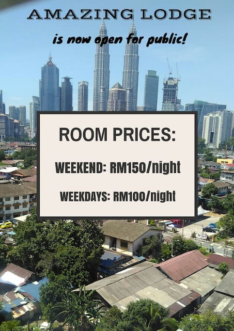 Special price rate given for a budget but luxuries stay in kl
