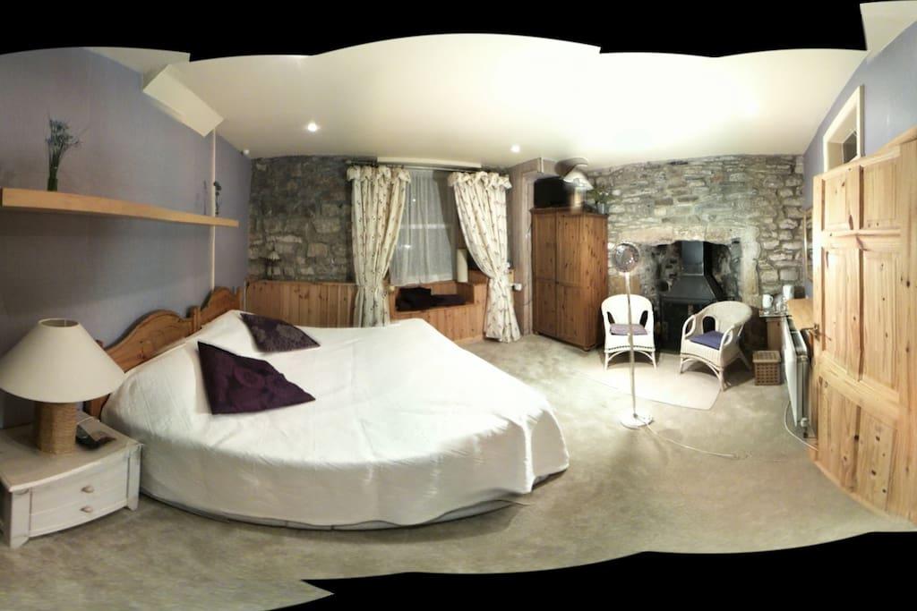 Ground floor room, panoramic view (bit misshapen)