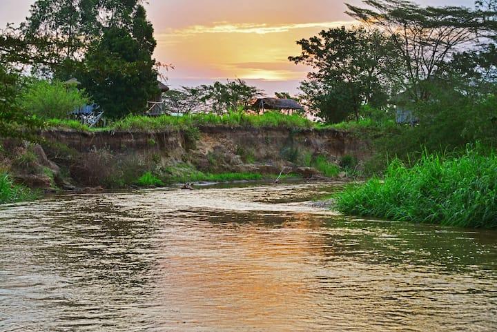 @ The River Ishasha Lodge