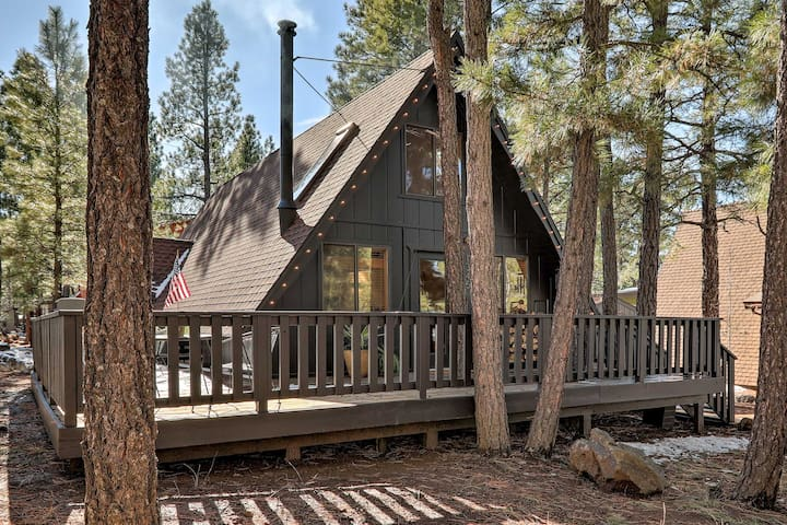 NEW! Modern A-Frame Cabin w/Deck: Hike, Bike & Ski