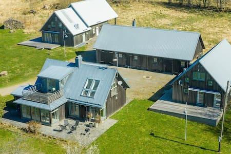 Vildmarkshus på Hallandsåsen