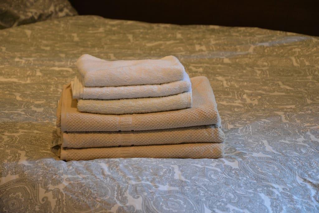 Bath Towels and Hand Towels