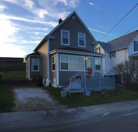 Harbour front house in North Sydney, Cape Breton