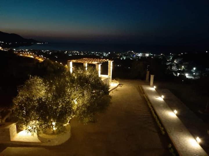 Wonderful maisonette with amazing view