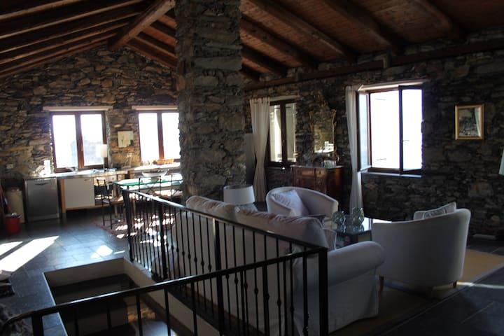 Villa avec piscine à Triora - Triora - Casa