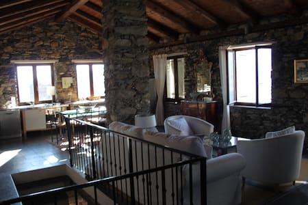 Villa avec piscine à Triora - Triora