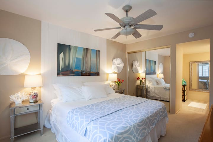 Spacious Master Suite with  Luxurious King Bed