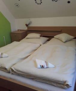 Dvoulůžkový pokoj Penzion v Ráji(sdílená koupelna) - Dolní Kalná