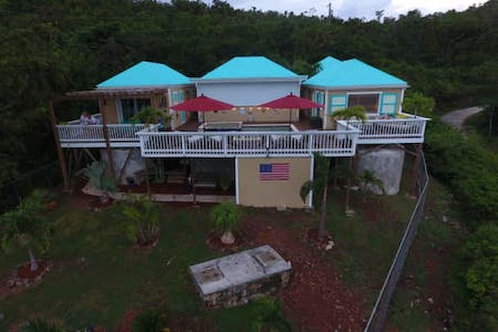 West Indie Caribbean Villa with private pool.