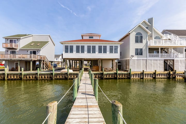 Pier Pressure - Amazing Bayfront in Captain's Cove!