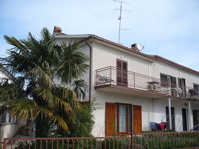 Two bedroom apartment with balcony and sea view Umag (A-11647-a) - Umag - Apartment