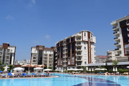 Penthouse 4+1 in Orion Сity Avsallar with sea view